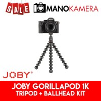 Joby GorillaPod 1K KIT ORIGINAL Ballhead For Mirrorless Camcorder