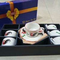 tea set ayam jago 8set
