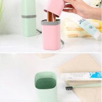 LR792 Travel Toothbrush holder cup tempat sikat gigi mudah dibawa