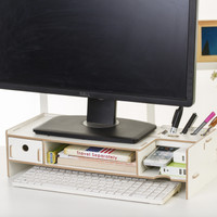5088C New Desktop storage Meja laptop ada lacinya