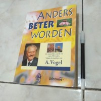 Anders Beter Worden A. Vogel buku book import belanda pengetahuan