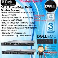"DELL Server R440 ""Custom Spec 3"" Intel Xeon Silver 4108 RackSeries"