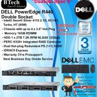 "DELL Server R440 ""Custom Spec 4"" Intel Xeon Silver 4110 RackSeries"