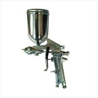 ORANGE SPRAY GUN F100 TABUNG ATAS - ALAT SEMPROT CAT MESIN KOMPRESOR