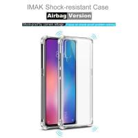 IMAK ShockProof TPU Soft Case - XiaoMi Mi 9 & Mi9 - Clear
