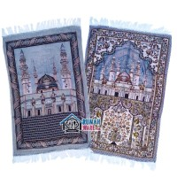 Sajadah Jumbo Lipat Tipis 108 x 71 cm - Motif Masjid