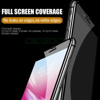 OICGOO 6D Curved edge Tempered Glass For iPhone 6 6s 7 8 Plus X 10 Scr