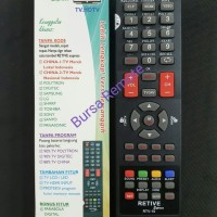 REMOT/REMOTE MULTI TV TABUNG/LCD/LED/PARABOLA RTV-10 -GROSIR