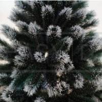 Unik Pohon Natal Salju 1 8 meter 180cm 1 8m 6FT Alaska Rainbow Fi