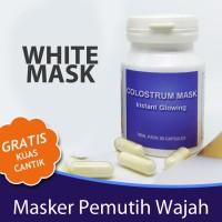Harga masker kecantikan pencerah pemutih muka non fruit | Pembandingharga.com