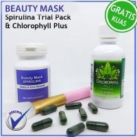 Harga masker muka terbaik masker spirulina | Pembandingharga.com