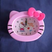 Jam Weker Hello Kitty warna Pink & Disney Princess