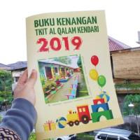 Cetak Buku Tahunan (Kenang-kenangan Sekolah) Lembaga