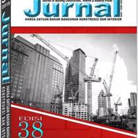 Buku Jurnal Harga Satuan Bahan Bangunan Edisi 38 Tahun 2019