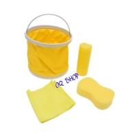Pro Clean Car Wash >> Proclean Set Peralatan Cuci Mobil 4 Pcs Smart Car Wash Set Kuning