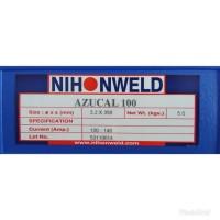Kawat Las Nihonweld Hardfacing AZUCAL 100 Dia 3.2mm