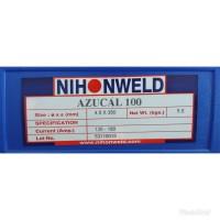 Kawat Las Nihonweld Hardfacing AZUCAL 100 Dia 4.0mm