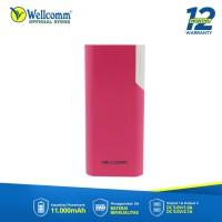 Wellcomm - Powerbank BR 110 / Power Bank Murah / 11000mAh
