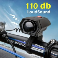Bel Sepeda Electric Horn Loud Voice for Bicycle - DBH-778 - Black