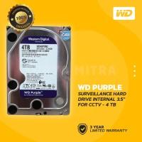 "WD Caviar Purple 4TB - HDD Hardisk Internal 3.5"" for CCTV Surveillance"