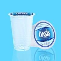 OASIS Gelas Air Mineral/Air Minum Dalem Kemasan 240 ml Isi 48