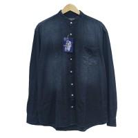 EASTLORE Denim Shanghai Shirt GREY BIGSIZE - Kemeja JEANS JUMBO SIZE