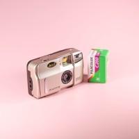 Kamera AKica Primo BF800 + Roll Film