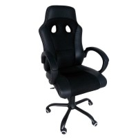 PROMO JYSK Office Chair / Kursi Gaming Aggestrup Black EBEB