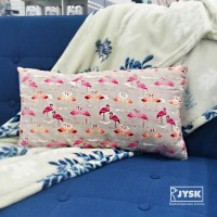 BEST SELLER JYSK Bantal - Long Cushion Flammingo 28X50CM Pink EBEB
