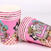 Paper Cups Gelas Kertas 10pcs LOL 83C04