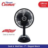 Harga cosmos 7 lda twino kipas angin 2in1 7 inch desk wall | Pembandingharga.com