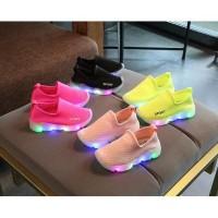 Sepatu UK 27-31 SEPATU LED ANAK MODEL SLIP ON/ SEPATU CASUAL ANAK /
