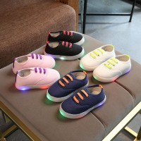 Sepatu SEPATU CASUAL LED ANAK MODEL TALI ACTION / FASHIONS KIDS CASUAL