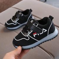 Sepatu SEPATU SPORT CASUAL FILLA LED ANAK / FASHION KIDS FILLA SHOES