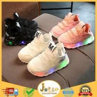 Sepatu 21-25 SEPATU SPORT CASUAL LED ANAK / SEPATU LED M JALA KOREA