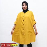 Baju Tunik- TUNIK JUMBO BIG SIZE- BLOUSE Atasan Muslim Bahan Katun