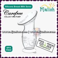 MALISH - SILICONE BREAST MILK SAVER CAREFREE / MANUAL BREAST PUMP
