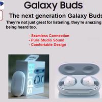 Original Samsung Galaxy Buds 2019 Earphone -Garansi Resmi SEIN-PUTIH