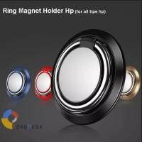 Ring Magnet iRing Holder Handphone Premium Aluminium Magnet HP Holder