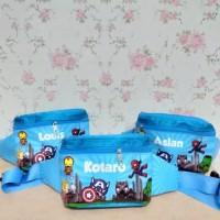 Souvenir Tas Pinggang Custom/Tas Pinggang Anak/Waist Bag Anak Custom