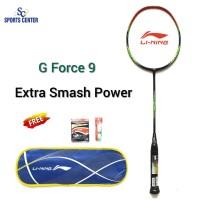 BEST DEAL Raket Badminton Lining G Force 9 / G-Force 9 FULLSET