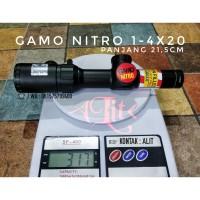 Teleskop GAMO NITRO 1-4x20 bdc