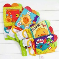 Buku Kain Bayi Buku Bayi Softbook Carters Teether Buku Anak