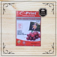 Kertas Foto Doff A4 Double Side Matte Inkjet Paper Eprint A4 220gsm