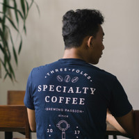 Three Folks - Speciality Coffee T-shirt