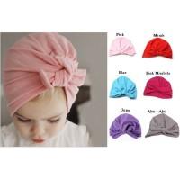 Topi Anak bayi turban knot/bando anak bayi turban knot/topi lucu anak