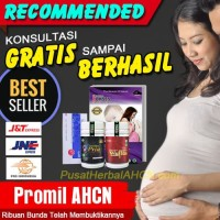 Herbal AHCN Paket Promil Penyubur Kandungan bkn madu penyubur