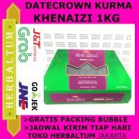 Kurma Khenaizi Kheneizi - Datecrown 1Kg 1000gr exp 05/2018
