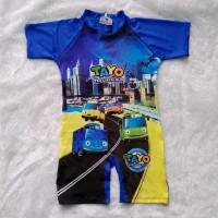 baju renang bayi karakter / baju diving cowok batita spa baby
