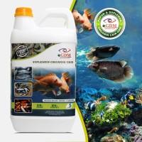 GDM Suplemen Organik Cair Untuk Perikanan Kemasan 5 Liter